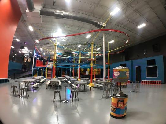 Urban Air, a full-service family entertainment center
