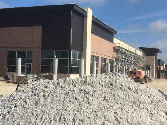 A look at the construction of Whole Foods Market at