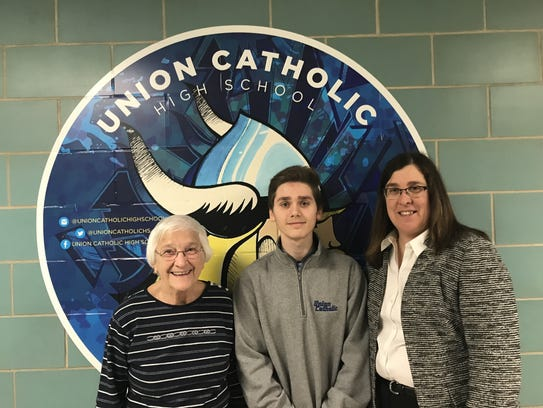 Sister Percylee Hart, RSM, Principal of Union Catholic,
