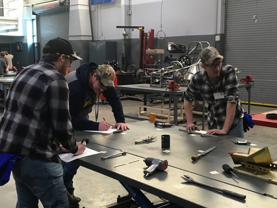 Edon FFA's Ag Mechanics Team advanced to the state