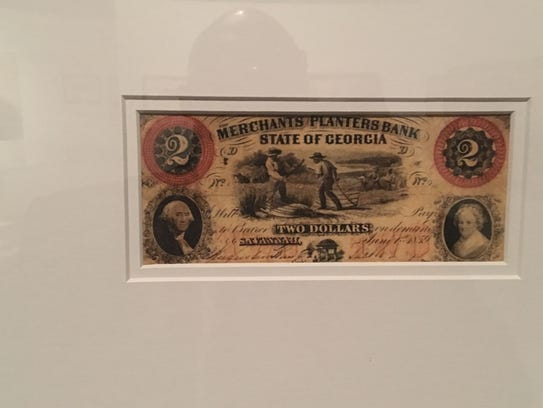 Confederate Currency: The Color of Money is an exhibit