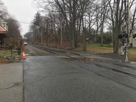 This section of the old Boonton railroad line, being