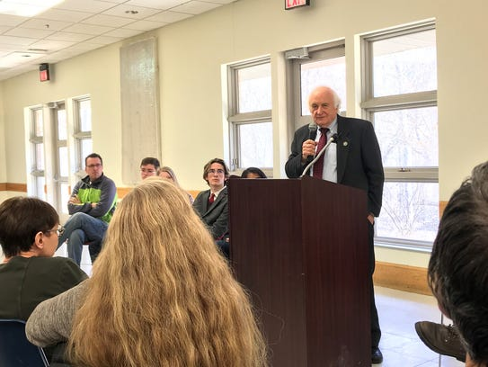 Congressman Sander Levin said the way to change is