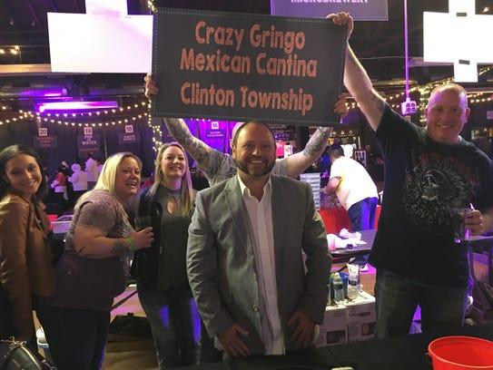 Tom Vasilos, owner of Crazy Gringo Mexican Cantina