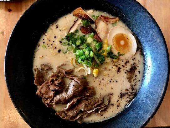 Beef Hayashi ramen ($14) at Namba Ramen & Sushi in