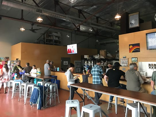 Alliance Brewing Company is within easy walking or
