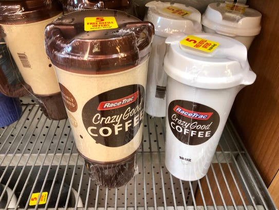 Get a discount on coffee and fountain drinks at RaceTrac
