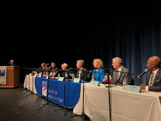 Candidates for governor meet at Kirkwood Community