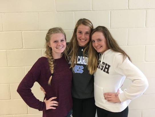 Riley Larsen, Sydney Kern, & Julia DeLong,  Grade 11,