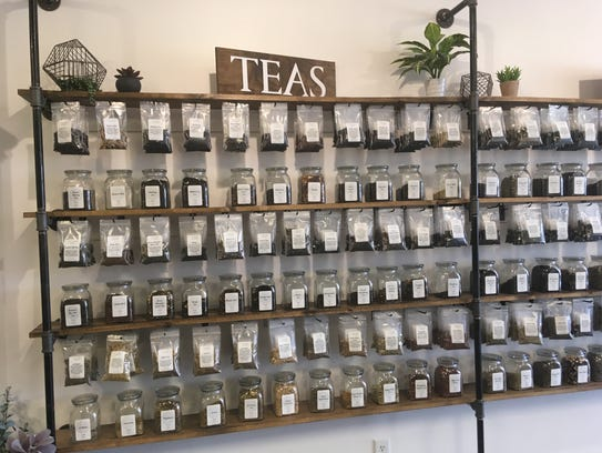 Tantara Farms has a wide selection of teas.
