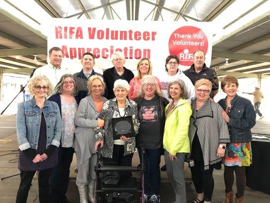 "RIFA's Lifetime Achievement Award recipient Wanda ""Sarge"""