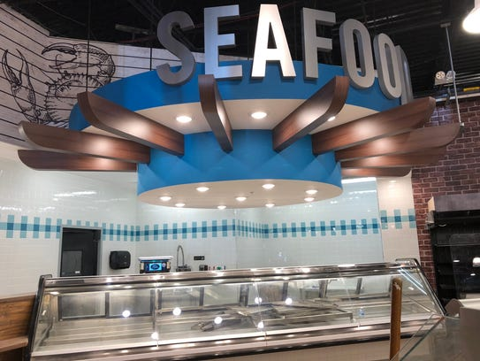 The Food Emporium will have a seafood department.