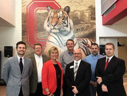 Chris Bauman, the new superintendent in Ozark, with