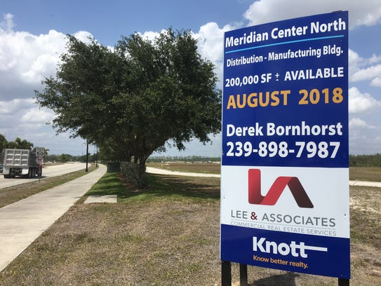 Meridian Center is on a 27-acre property on the east