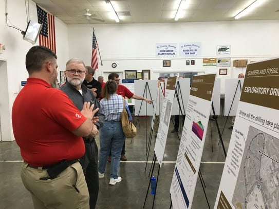 Local residents learned about TVA's environmental plans