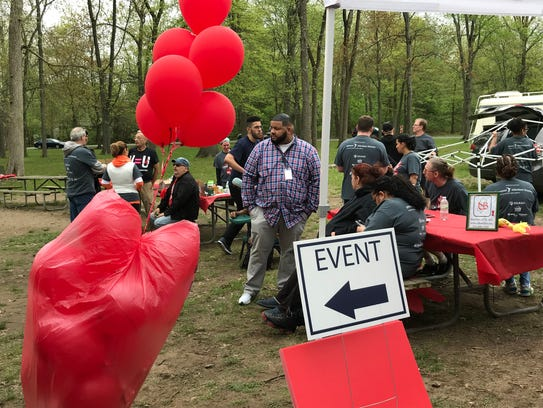 More than 400 people attended the New Jersey 2018 AIDS