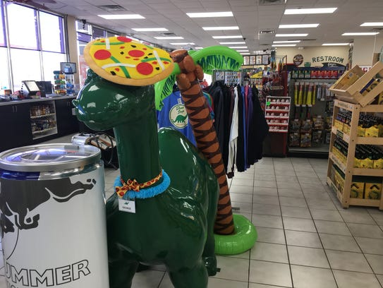 The Dino Stop on Cedar Hedge Lane, in Ledgeview, has