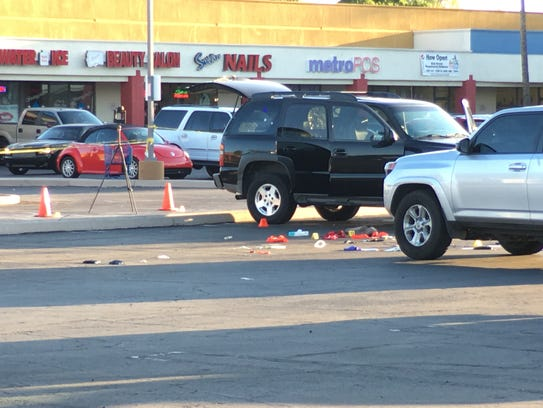 ICE agents were involved in a shooting in a Mesa parking
