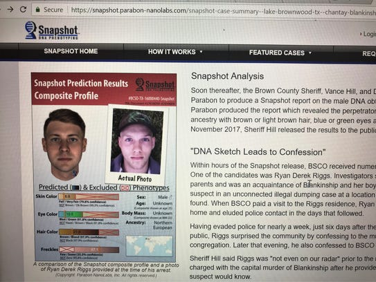After recovering DNA from a murder weapon, Brown County