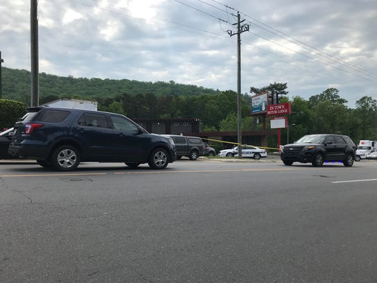One person was injured in an officer-involved shooting