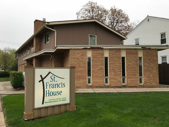 An exterior shot of St. Francis House, a homeless shelter