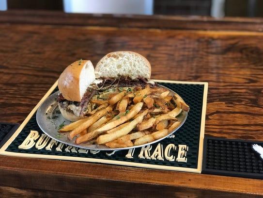 Jumpback Jack burger at Brothers Burger Joint.