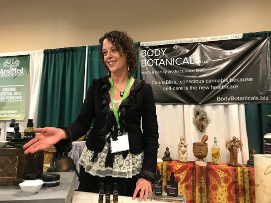 Gyan Devi of Body Botanicals in Burlington, launched