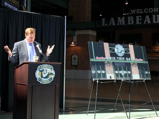 Green Bay Packers President and CEO Mark Murphy talks