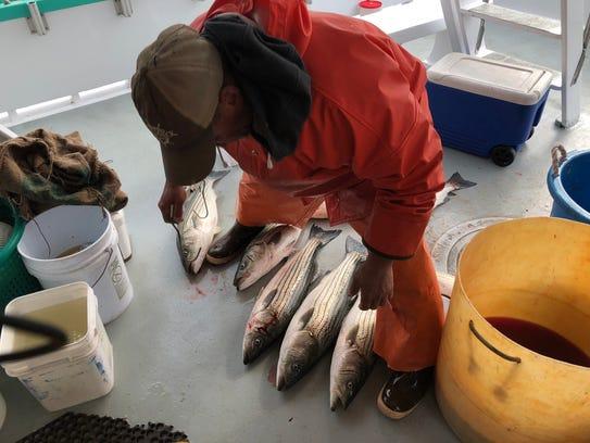 Jimmy Behne, mate on Atlantic Star fishing vessel,