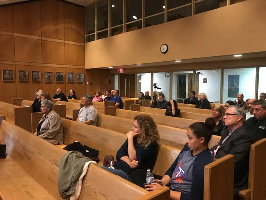 Lodi residents that neighbor a proposed warehouse application