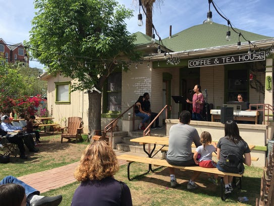 Songbird Coffee & Tea House is in downtown Phoenix.