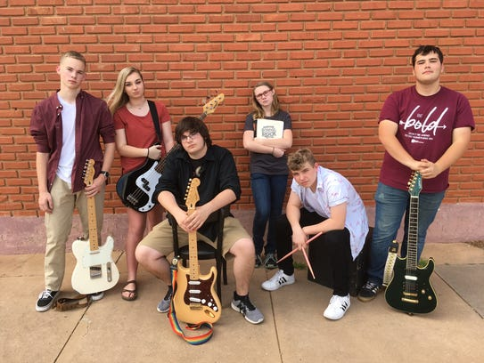 """Backdoor Theatre's Summer Youth Musical, """"School of Rock,"""" will be 7:30 p.m. June 8 and 9 and June 21 to 30. Backdoor is at 501 Indiana Ave.322-5000."""