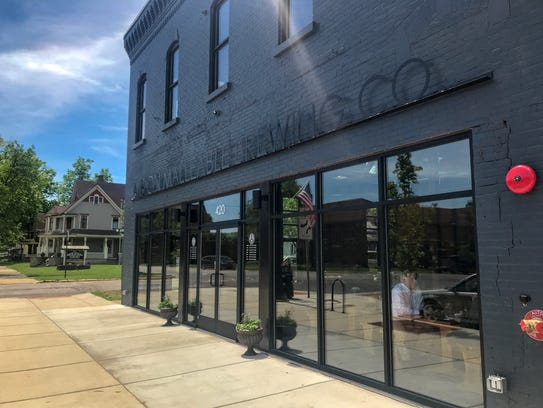 Albion Malleable Brewing Company opened on Monday,