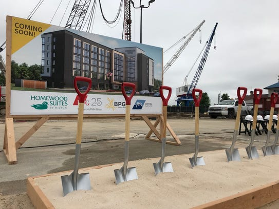A groundbreaking ceremony Tuesday kicked off the Buccini/Pollin