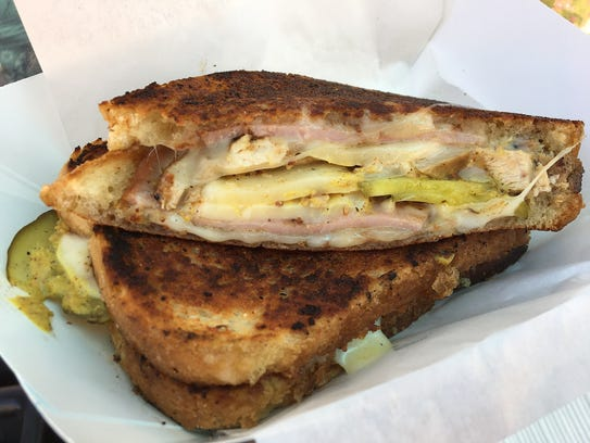 The Flying Cubano sandwich from SoCal Comfort Food