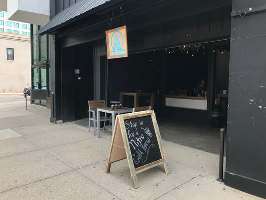 Blue Owl Coffee has opened a pop-up shop in downtown