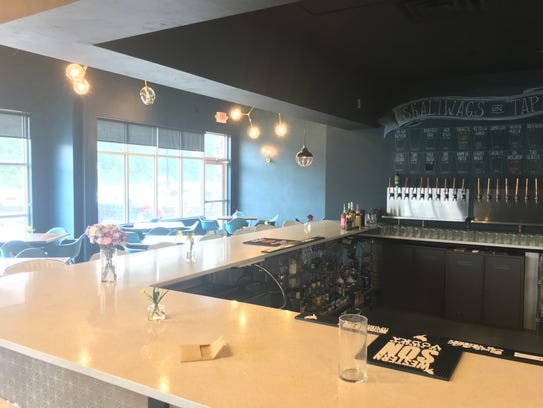 The interior of Skaliwags by Chef Chris, 2314 Lineville