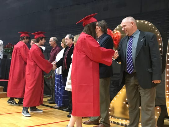 Paris Gibson Education Center 2018 graduation