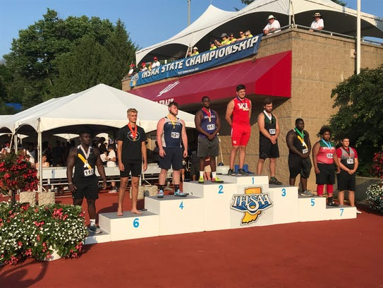 West Lafayette's George Karlaftis returns to the top