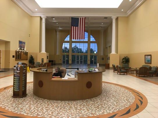 Port St. Lucie Civic Center lobby