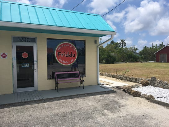 Friddu on Matlacha offers gourmet popsicles and bubble