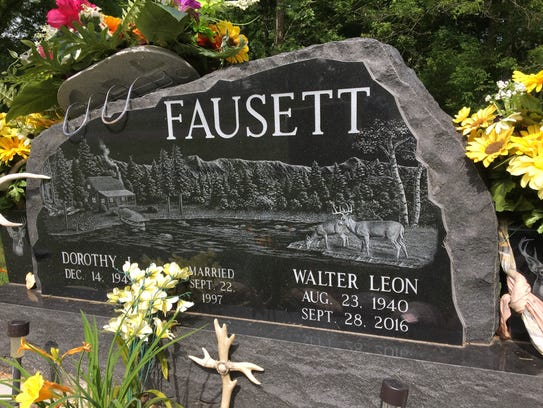 Walter Leon Fausett is also buried at Danforth Cemetery.
