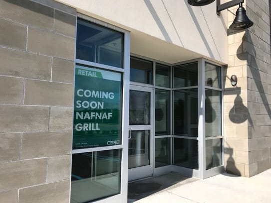 Naf Naf Grill, a popular, fast casual eatery, will