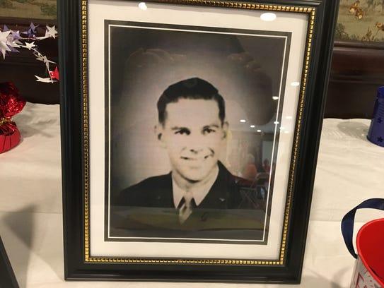 Bill Laun during his World War II service
