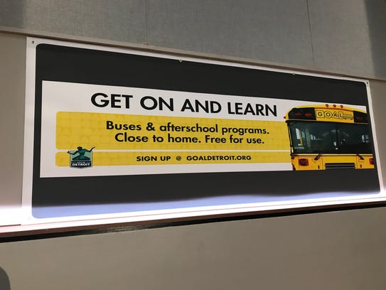 A bus loop will now serve some Detroit students.