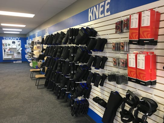Inside the See the Trainer sports medicine store at