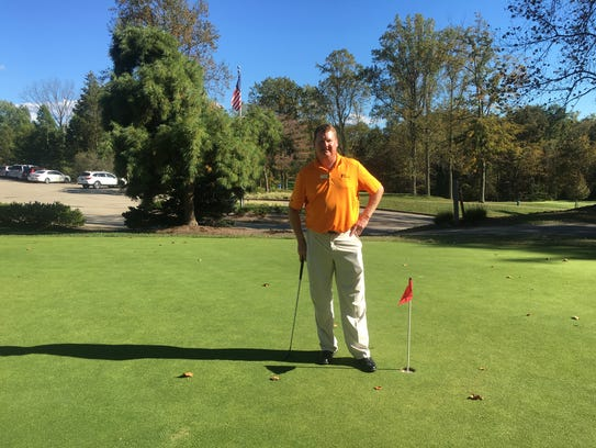 Sam Arnold is the GM of the Vineyard Golf Course off