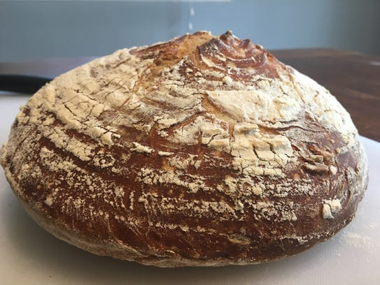 Panne Rustico baked by Valente's Italian Specialties in Haddonfield.