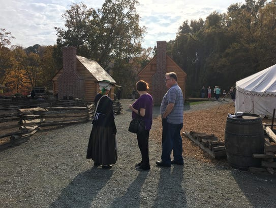 A Revolution-era farm offers visitors a chance to witness