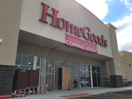 The HomeGoods at the Lake Lorraine development in Sioux. Marshalls and HomeGoods open Oct  19 in Lake Lorrane development